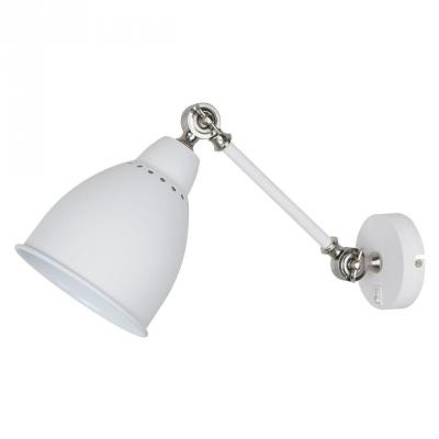Спот Arte Lamp Braccio A2054AP-1WH бра arte lamp braccio a2054ap 1ss