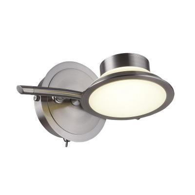 Светодиодный спот IDLamp Simonta 104/1A-LEDWhitechrome светильник спот id lamp simonta 104 1a ledwhitechrome