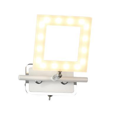 Светодиодный спот IDLamp Piazza 106/1A-LEDWhite