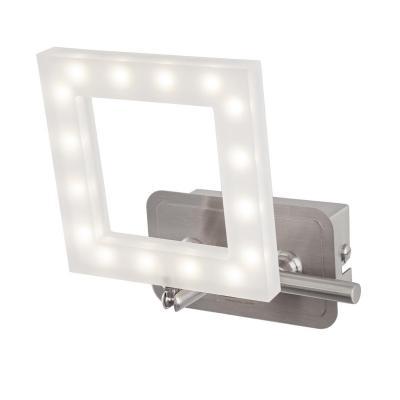 Светодиодный спот IDLamp Piazza 106/1A-LEDWhitechrome