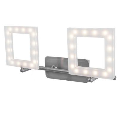 Светодиодный спот IDLamp Piazza 106/2A-LEDWhitechrome