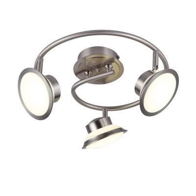 Светодиодный спот IDLamp Simonta 104/3PF-LEDWhitechrome светильник спот id lamp simonta 104 1a ledwhitechrome