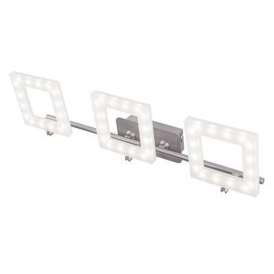 Светодиодный спот IDLamp Piazza 106/3A-LEDWhitechrome светодиодный спот idlamp piazza 106 1a ledwhitechrome
