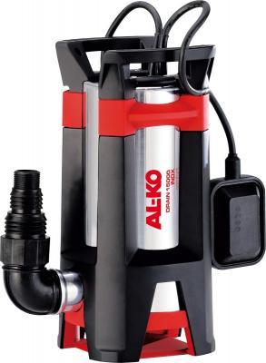 Насос AL-KO Drain 15000 INOX 1100Вт 15000л/ч глубина/высота 5м/11м 35мм вынос.попл. 6.8кг дренажный насос для грязной воды al ko drain 15000 inox comfort