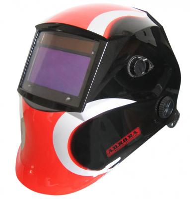 Маска сварочная Хамелеон AURORA SUN7 черно-красная сварочная маска wester wh5 990 023 хамелеон