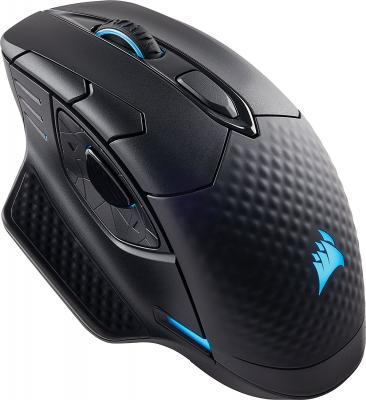 цена Мышь беспроводная Corsair Gaming Gaming Dark Core RGB чёрный USB + Bluetooth CH-9315011-EU
