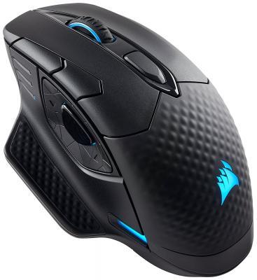Мышь беспроводная Corsair Gaming Gaming Dark Core SE RGB чёрный USB + Bluetooth CH-9315111-EU мышь проводная corsair ch 9300011 eu