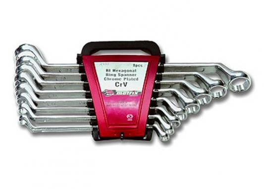 Набор накидных ключей MATRIX 15332 (6 - 22 мм) 8 шт. matrix 48 22 70493
