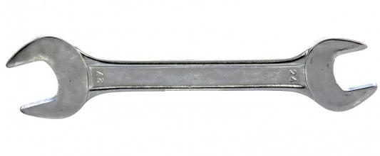 Ключ рожковый SPARTA 144775 (24 / 27 мм) хромированный ключ рожковый sparta 6 х 7 мм