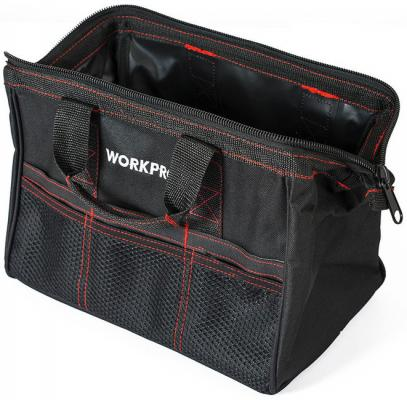 Сумка WORKPRO W081001 для инструмента 6карманов 320х210х230мм tool bag workpro w081102a