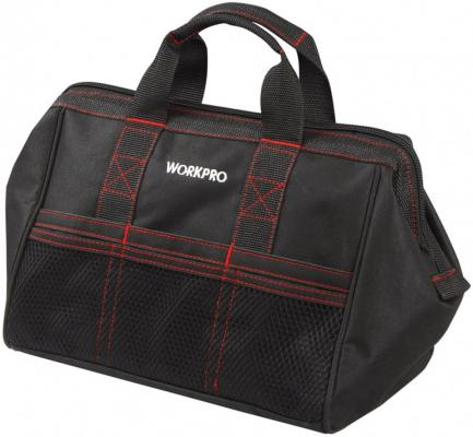 Сумка WORKPRO W081003 для инструмента 6карманов 445х290х320мм tool bag workpro w081102a