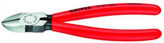 Бокорезы KNIPEX 7001160 160мм диагональные, ручки с пластмассовыми чехлами бокорезы knipex kn 1426160