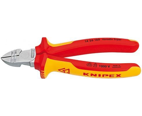 Бокорезы KNIPEX KN-1426160 для электр. 1000 V бокорезы knipex kn 1426160