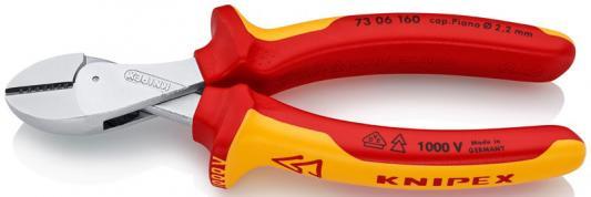 Бокорезы KNIPEX KN-7306160 хром 1000v бокорезы knipex kn 7001110 62 hrc