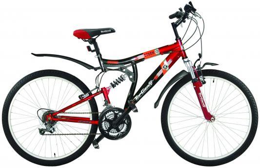 Велосипед Top Gear Storm 120 черно-красный ВН26217Н