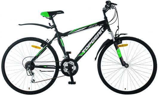 Велосипед Top Gear Jakarta 110 черно-зеленый ВН26315Н