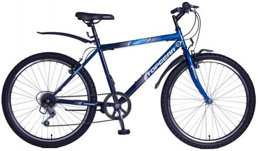 Купить Велосипед Top Gear Kinetic 100 18 синий, Двухколесные велосипеды для детей