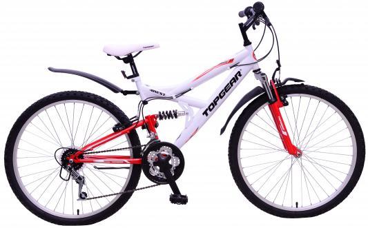 Велосипед Top Gear 4REST 120 26 бело-красный ВН26421Н