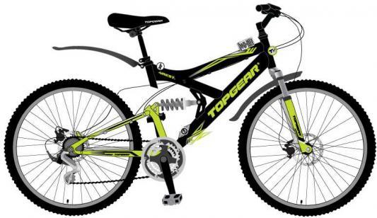 Велосипед Top Gear 4REST 225 черно-зеленый ВН26428Н