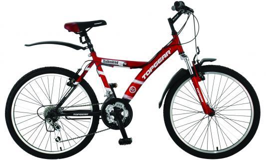 Велосипед Top Gear ВН24027Н 16,5 красно-черный ВН24027Н top gear