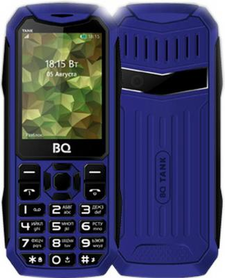 BQ 2428 Tank Blue Мобильный телефон bq 2428 tank green