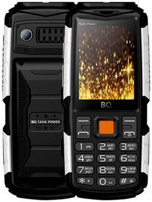 Мобильный телефон BQ 2430 Tank Power черный серебристый (MCO00055400) мобильный телефон jinga simple pb100 серебристый