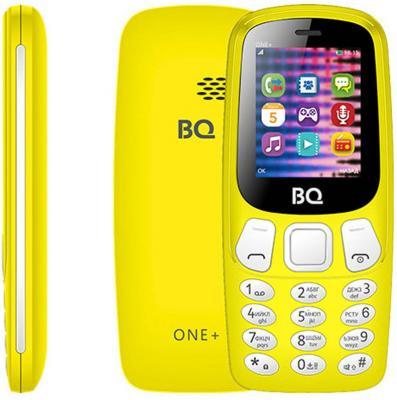 Мобильный телефон BQ 1845 One+ жёлтый мобильный телефон bq m 1565 hong kong silver