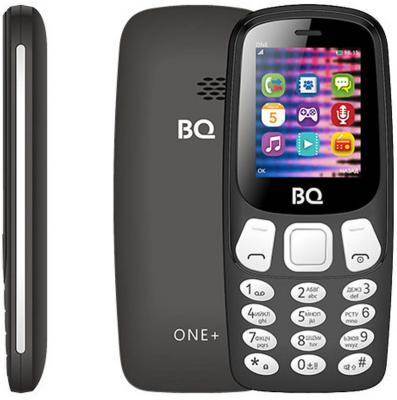 Мобильный телефон BQ 1845 One+ черный мобильный телефон alcatel one touch 1016d volcano black