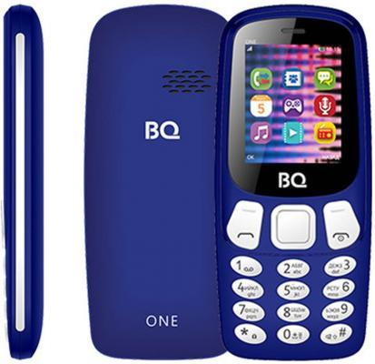 Мобильный телефон BQ 1844 One темно-синий мобильный телефон bq m 1565 hong kong silver
