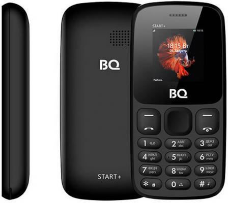 Телефон BQ 1414 Start+ черный телефон