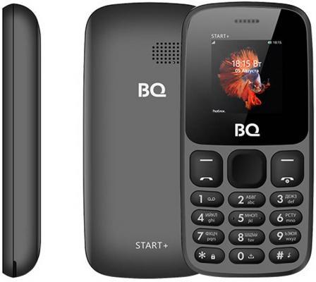 Мобильный телефон BQ 1414 Start+ серый мобильный телефон bq mobile bq 1414 start orange