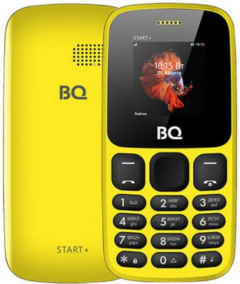 Мобильный телефон BQ 1414 Start+ жёлтый мобильный телефон bq m 1565 hong kong silver
