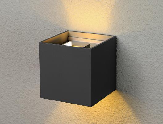 Уличный настенный светодиодный светильник Elektrostandard 1548 Techno LED Winner 4690389106279