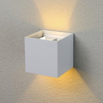 Уличный настенный светодиодный светильник Elektrostandard 1548 Techno LED Winner белый 4690389106286 настенный светильник kolarz austrolux barca 2295 62 5 ag