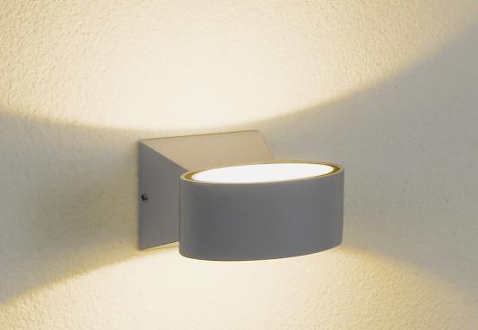 Уличный настенный светодиодный светильник Elektrostandard 1549 Techno LED Blink серый 4690389106316