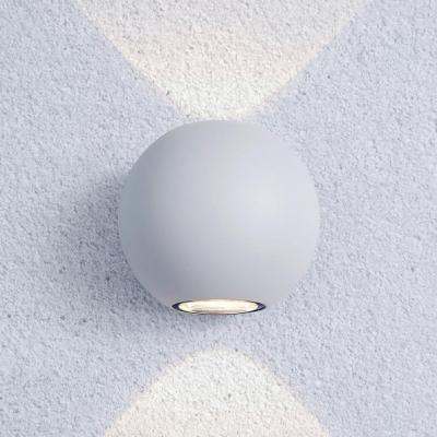 Уличный настенный светодиодный светильник Elektrostandard 1566 Techno LED Diver белый 4690389107467