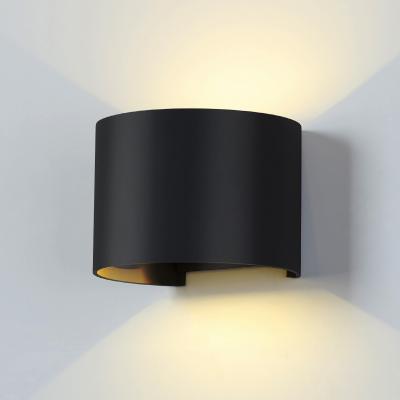 Уличный настенный светодиодный светильник Elektrostandard 1518 Techno Led Blade черный 4690389108938 elektrostandard 1518 techno led blade белый