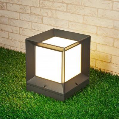 Уличный светильник Elektrostandard 1604 Techno Marko S серый 4690389107788 трафарет schreiber комос пластиковый s 2635