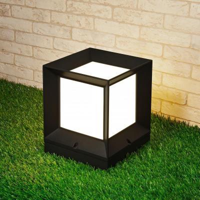 Уличный светильник Elektrostandard 1604 Techno Marko S черный 4690389107795
