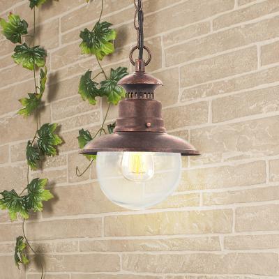 Уличный подвесной cветильник Elektrostandard Talli H GL 3002H брауни 4690389106583 life in trend cветильник подвесной ship lantern