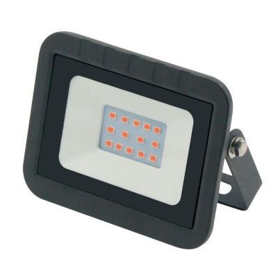 Прожектор светодиодный (UL-00002559) Volpe 10W ULF-Q511 10W/Red IP65 220-240В Black прожектор светодиодный estares dl ns10 ac180 264v 10w ip65 зеленый