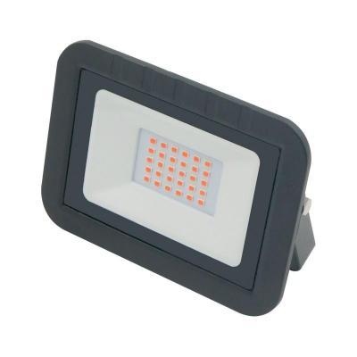 Прожектор светодиодный (UL-00002560) Volpe 30W ULF-Q511 30W/Red IP65 220-240В Black 110db loud security alarm siren horn speaker buzzer black red dc 6 16v