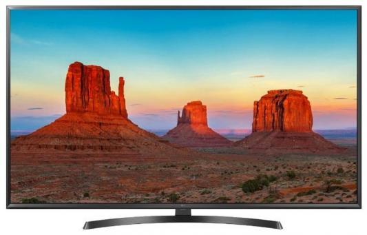 Телевизор LG 65UK6450PLC черный цена и фото