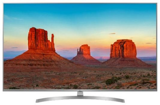 Телевизор LG 55UK7500PLC серебристый lg 55uk7500plc dark grey телевизор