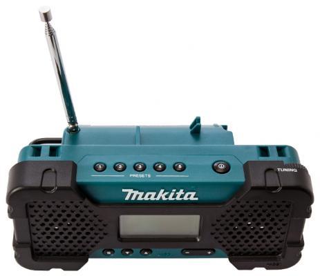 Радио MAKITA MR 051 10.8В. Li-ion. FM\\AM БЕЗ АКК, и ЗУ радио makita mr052 186740 10 8в li ion слайдер fm am 0 5кг mp3 соединение вход aux б акк и з у