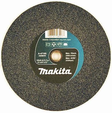 Круг шлифовальный MAKITA A-47195 круг шлифовальный ф150x6.4x12.7мм к60