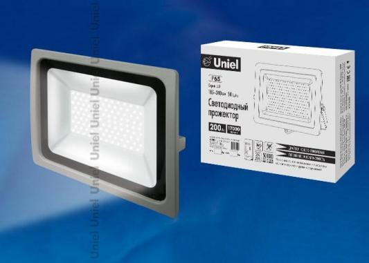 Прожектор светодиодный (UL-00002020) Uniel 200W 6500K ULF-F16-200W/DW IP65 185-240В Silver 5pcs 0 05 ohm 0 05r 200w watt power metal shell case wirewound resistor