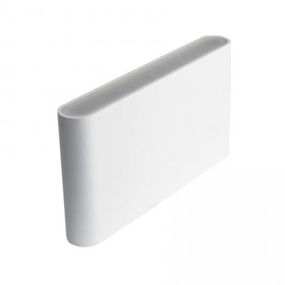Уличный настенный светодиодный светильник Donolux DL18400/21WW-White M Dim настенный уличный светильник donolux dl18405 21ww grey