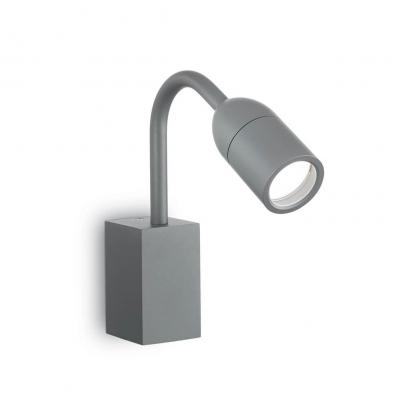 Уличный настенный светильник Ideal Lux Loop AP1 Antracite ideal lux уличный настенный светильник ideal lux rex 1 ap1 antracite
