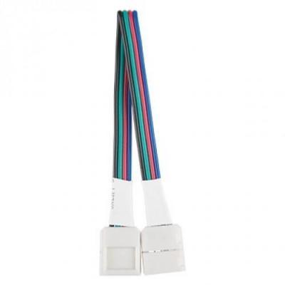 Коннектор Gauss для светодиодной ленты RGB 291200000 elektrostandard аксессуары для светодиодной ленты elektrostandard коннектор для одноцветной светодиодной ленты 3528 гибкий одност 4690389084744